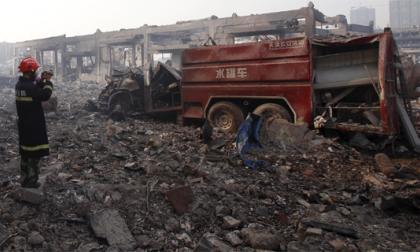 China inicia purga por la catástrofe de Tianjin