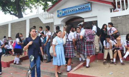 Pico y placa en colegio Betania  Norte, por fallas eléctricas