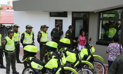 La alcaldesa inauguró CAI en La Cumbre