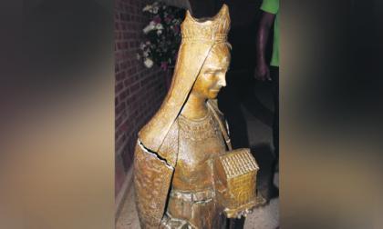 Se roban Virgen de El Pozón y los niños la encuentran en un paraje
