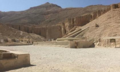 Entrada a la tumba de Tutankamón