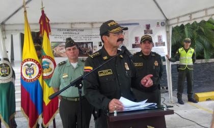 """""""Le prometimos a la familia que el homicidio del médico Jorge Daza no iba a quedar en la impunidad"""": General Palomino"""