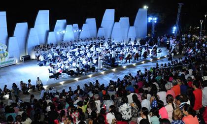 Parque Sagrado Corazón estrena concha acústica