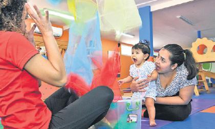 El lugar donde los niños juegan a aprender