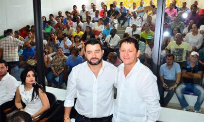 Jaime Sanjuán y Fernando Fiorillo, asumen como  personero y contralor