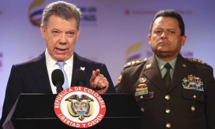 Santos encabezará transmisión de mando al nuevo director de la Policía