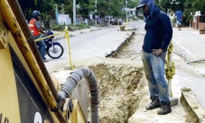 Anuncian alcantarillado para un barrio en Malambo
