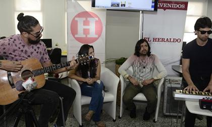 Los de Adentro presentan su nueva canción en #SesionesEH