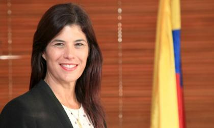 Natalia Abello, ministra de Transporte.