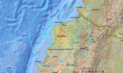 Sismo de magnitud 6,7 sacude nuevamente a Ecuador