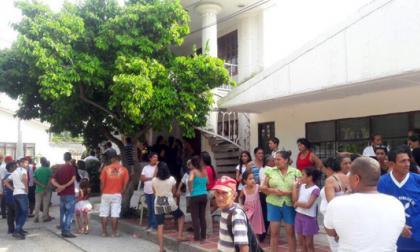 El hecho se registró en la calle 24 con carrera 19, barrio Centro de Sabanalarga.
