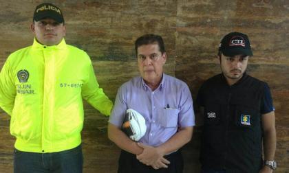Álvaro Echevarría capturado por la policía y el CTI