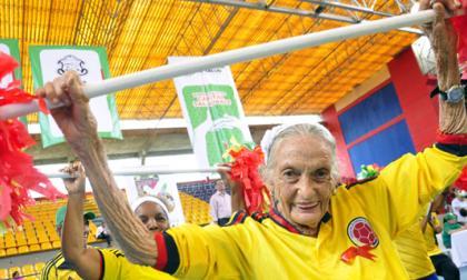 En Barranquilla, 2.000 adultos mayores gozaron de la 'Gimnasiada'