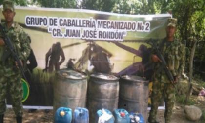 Incautados en La Guajira 1.500 galones ilegales de ACPM y 350 de gasolina