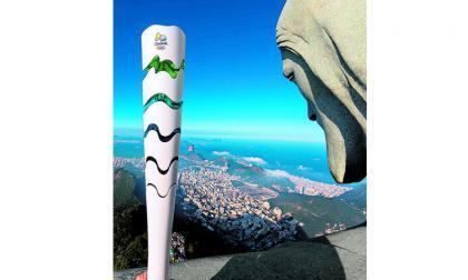 Subastan antorcha olímpica de los Juegos Olímpicos de Río 2016