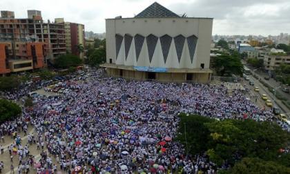 Estudiantes convocan 'Guacherna por la paz' en Barranquilla