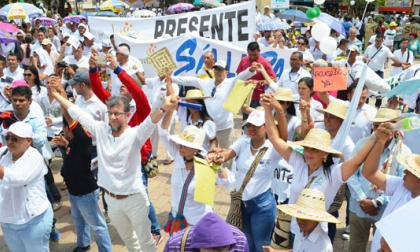Desde la Plaza Majagual, sucreños clamaron por la paz