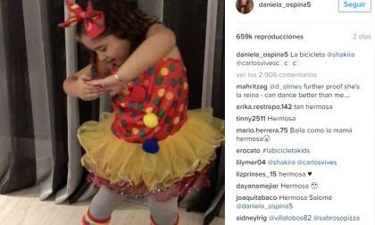 Hija de James Rodríguez estremece las redes sociales