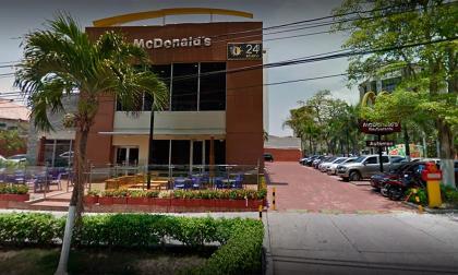 Esto fue lo que dijo la Policía de lo que pasó en McDonalds de la calle 80 con 51B
