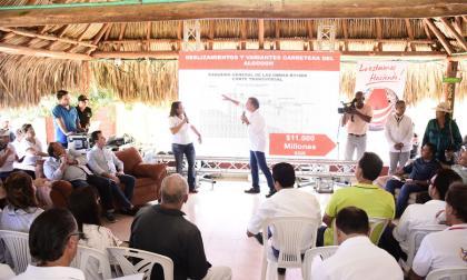 Verano priorizó vías en la zona costera para promover turismo