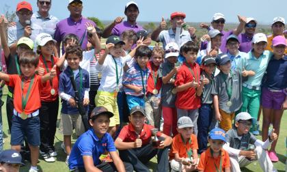 Éxito en la I 'Copa Country Club' de golf
