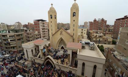 Una de las iglesias atacadas por el Estado Islámico.