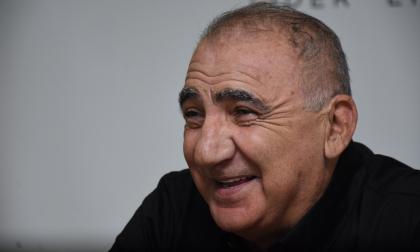 Miguel Ángel López se mostró muy sonriente y con desparpajo durante el diálogo que sostuvo el sábado en las oficinas de EL HERALDO.