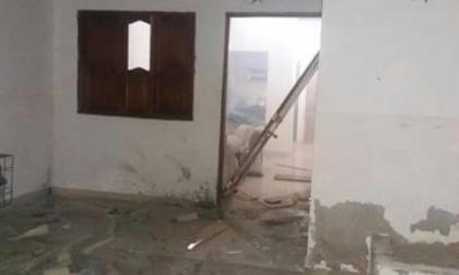 Explota artefacto en residencia del presidente de Sintrasalinas en Manaure
