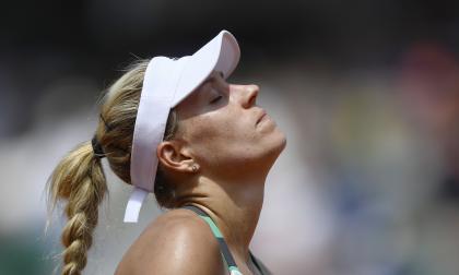 Kerber, eliminada en primera ronda de Roland Garros