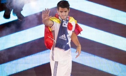 El delantero de la selección española Álvaro Morata.