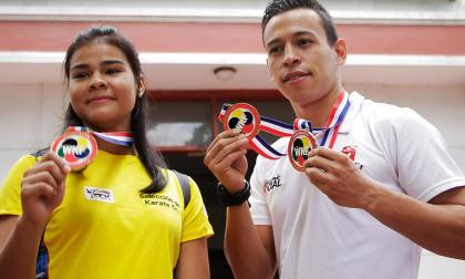 Karate do y atletismo, a torneos nacionales
