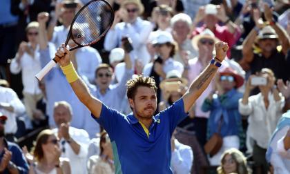 Wawrinka venció a Murray y avanzó a la final del Roland Garros