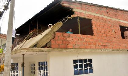 Intensa lluvia en la madrugada genera estragos en Cartagena y zona insular