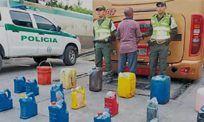 Caen 29 personas por contrabando de combustibles en Cesar
