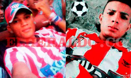Luis González y Ferney Padilla, ambos pertenecientes a la filial de Montería de la barra juniorista Frente Rojiblanco Sur (FRBS), murieron el lunes anterior en un accidente de tránsito.