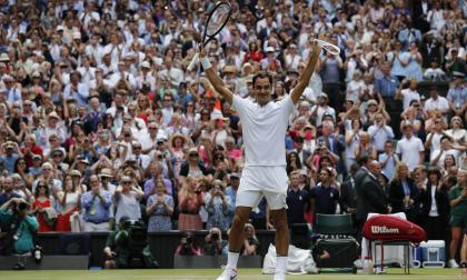 """""""Seguí creyendo y soñando, y aquí estoy"""": Federer"""