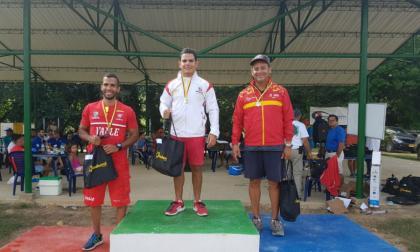 Kevin Donado clasifica a los Juegos Bolivarianos de Santa Marta