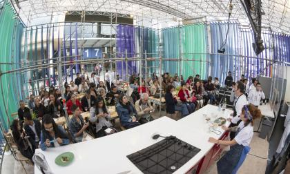 Evento cocina colombiana a cargo de la chef marcela Arango y Luis F. Valencia.
