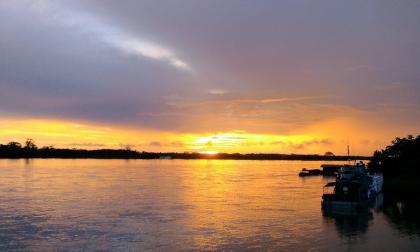 Vista en el Amazonas.