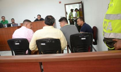 Presentan en audiencia a los dos capturados por caso Merlim Network