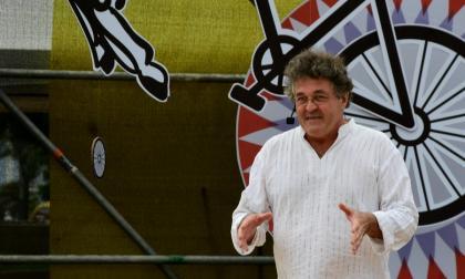 Marc Buléon durante una presentación en el festival El Caribe Cuenta.