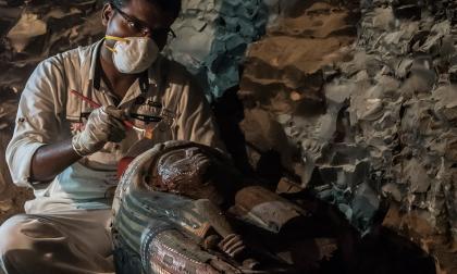Descubren momias y una importante tumba de la época del Nuevo Imperio