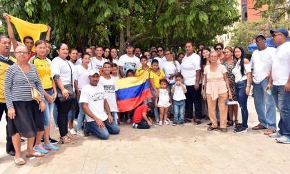 Piden apoyo a colombianos afectados por Irma en San Martin