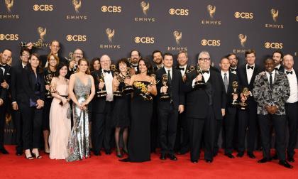 La política se tomó gala de entrega de los Emmy