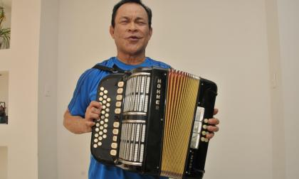 Homenajeado Alfredo Gutiérrez.