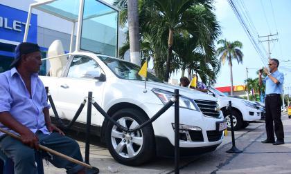 Sorpresa en Barranquilla: llegó el papamóvil