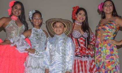 Andrea De Alba, Laura Ospino, Samuel Quintero, Katerin Salazar y Johana Gutiérrez.