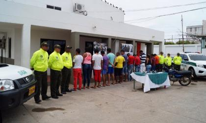 Desarticulan dos bandas delincuenciales en Maicao dedicadas al homicidio y el hurto