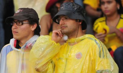 Jueves de 'fiebre amarilla' metido en agua en Barranquilla: Ideam