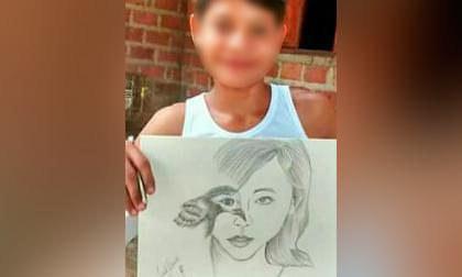 Repudio en El Piñón por muerte de niño baleado cuando agarraba  naranjas en árbol de vecino